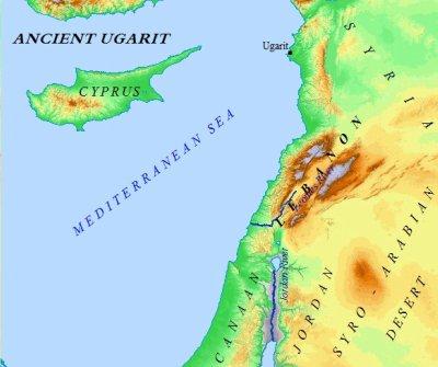 UgaritGeoMap