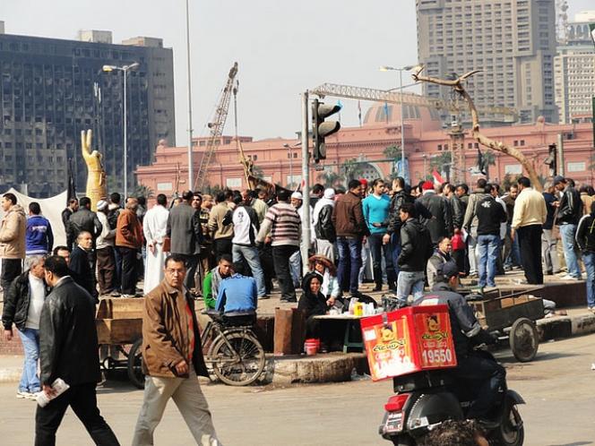 Plac Tahrir, Kair flickr.com/photos/sierragoddess/6779119422
