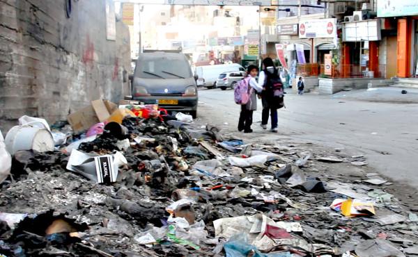 Obóz dla uchodźców w Szufat.