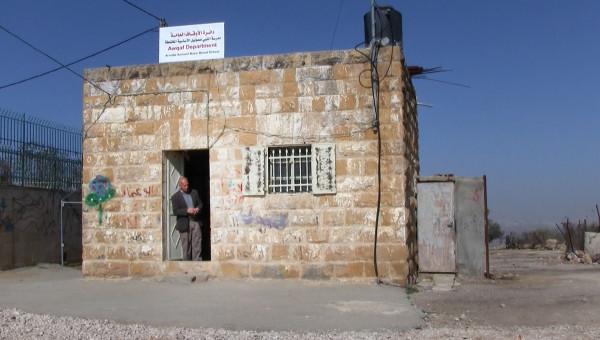 Budynek szkoły w Nabi Samuel
