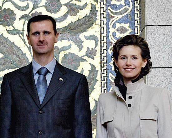 Baszszar Al-Asad i żona Asma Al-Asad (fot. Ricardo Stuckert / Agência Brasil, na licencji Creative Commons Attribution 3.0 Brazil)
