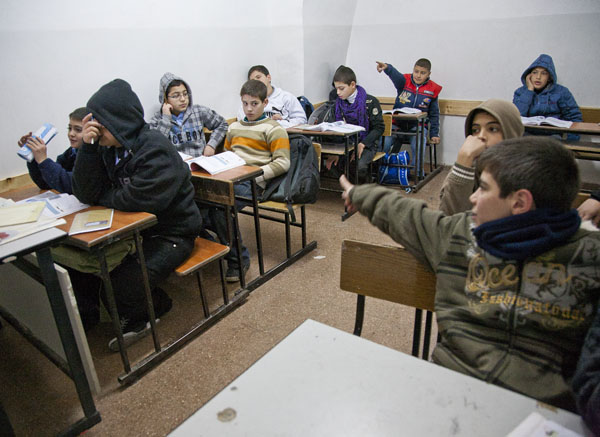 W kilku klasach nie ma okien i wentylacji.