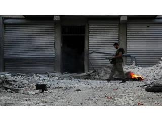 Żołnierz Wolnej Armii Syrii, Scott Bobb z Aleppo, Syria, wikimedia commons, PD