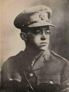 Włodzimierz Żabotyński w mundurze Legionu Żydowskiego
