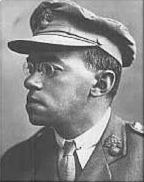 Żabotyński w mundurze armii brytyjskiej, okres I Wojny Światowej. Źródło:  Wikimedia Commons.