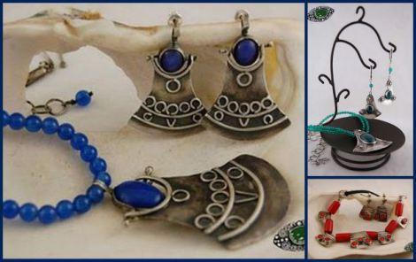 Tuareska biżuteria by Agnieszka Orłowska (Fot. http://www.agaorlowska.com)