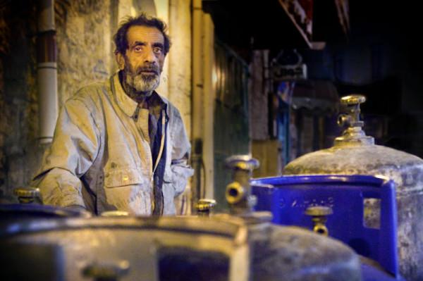 Betlejem. Nawet najbardziej rozwinięte regiony, jak dystrykt betlejemski, nie mają sieci gazowej. Gaz jest dostarczany w butlach. Jest używany wszędzie - w prywatnych mieszkaniach, ale także na ulicach przez handlarzy.