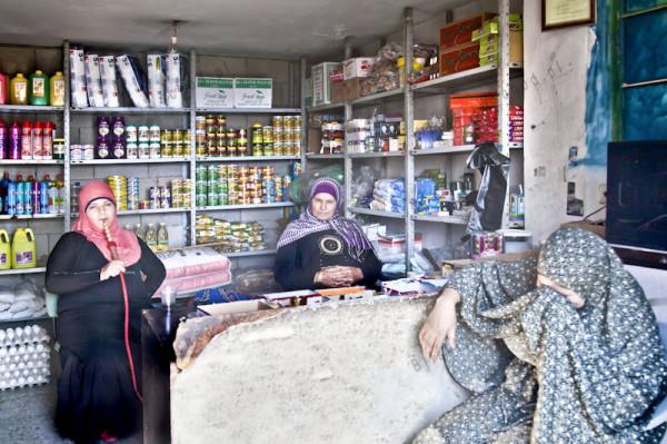 Ubedija. Wiejski sklep spożywczy. W tej wsi wszystkie sklepy prowadziły kobiety.