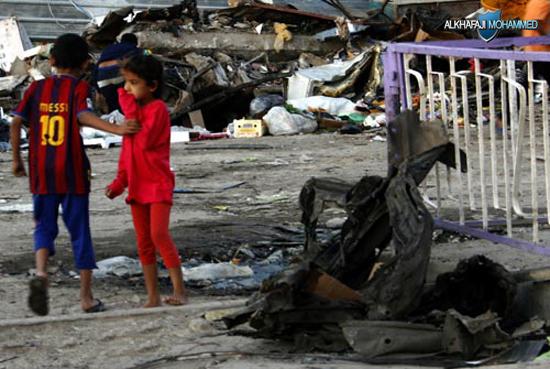 IRAQ BAGHDAD BOMB ATTACKS AFTERMATH