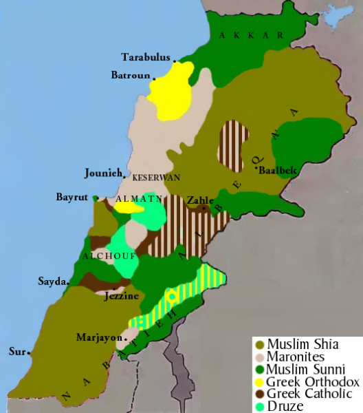 Lebanon_religious_groups