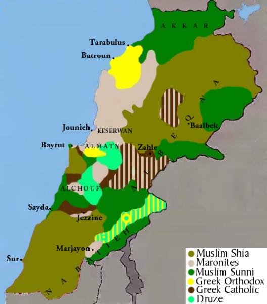 Lebanon_religious_groups