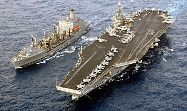 Lotniskowiec USS Harry S. Truman (fot. domena publiczna).