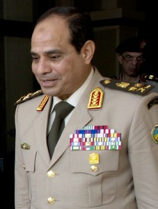General Al Sisi, author Secretary of Defense, source - file from the Wikimedia Commons