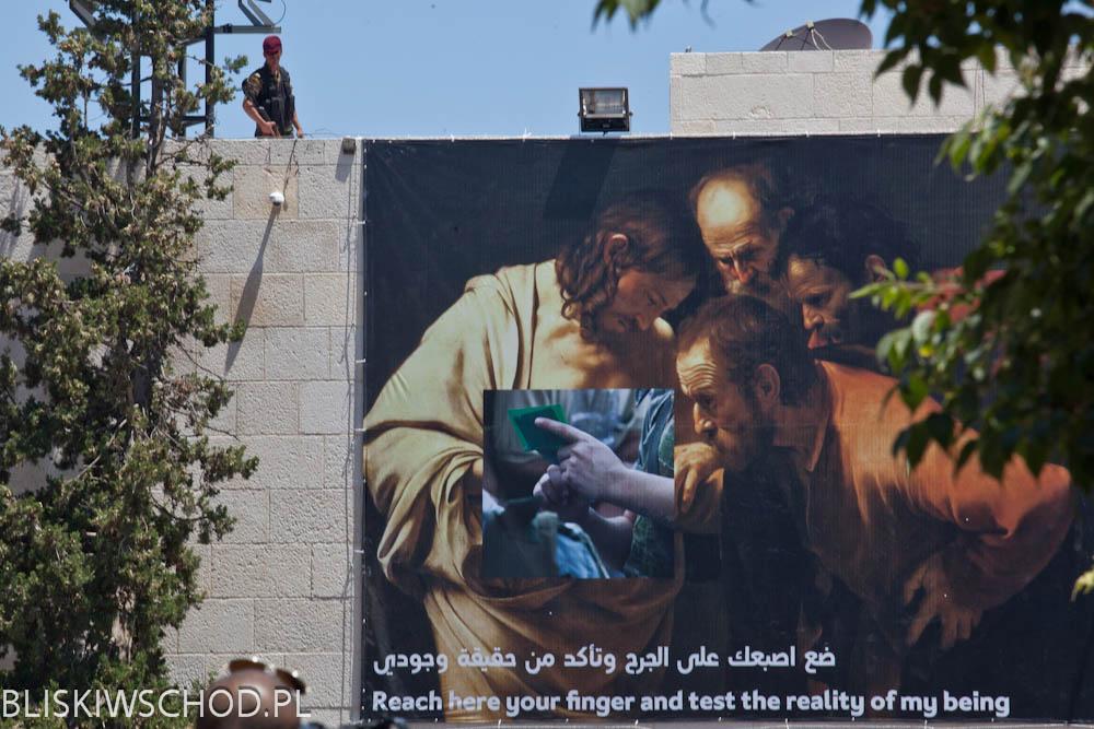 Wizyta Papieża Franciszka w Betlejem