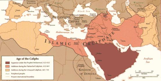 Kalifat, ok. 720