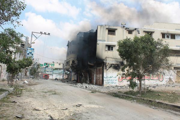 Joe Catron, Gaza