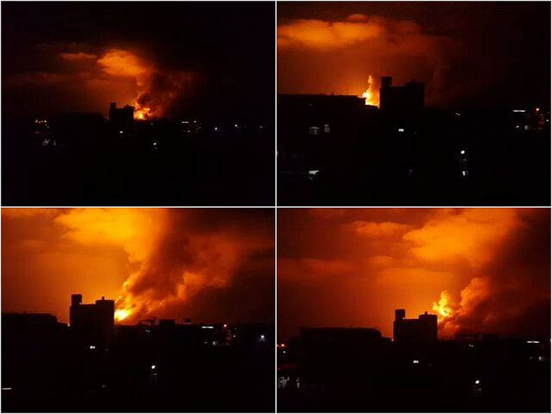 Gaza, 18 lipca 2014, Źródło: Wikimedia Commons, Mohammed Badarin