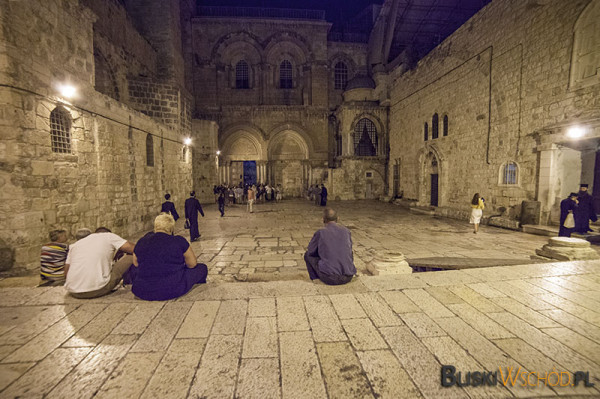 Bazylika Grobu Pańskiego, Jerozolima (fot. Dominika Zarzycka)