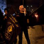 Protest w Betlejem. W demonsracjach biorą udział głównie młodzi ludzi ludzie.
