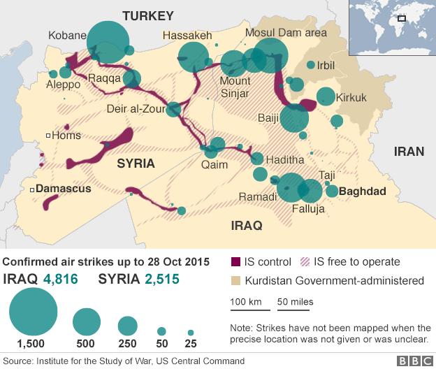 panstwo islamskie mapa