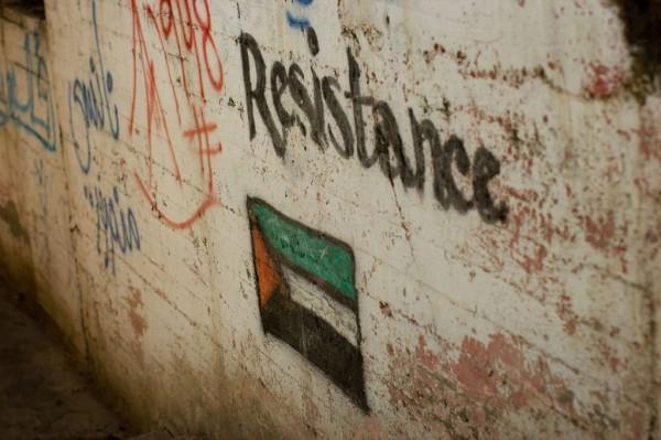 Opór wobec trudnych warunków życia na Zachodnim Brzegu Jordanu znajduje wyraz na ścianach. Nablus